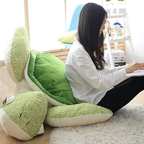 L&J Cartoon Ausgestopfte Tiere Schildkröte Puppe Plüschtiere Kissen Sitzkissen Tatami Stuhl-A 110cm(43inch)