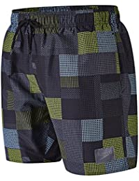 Speedo Herren Printed Check Leisure Watershorts