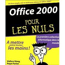 Office 2000 pour les nuls