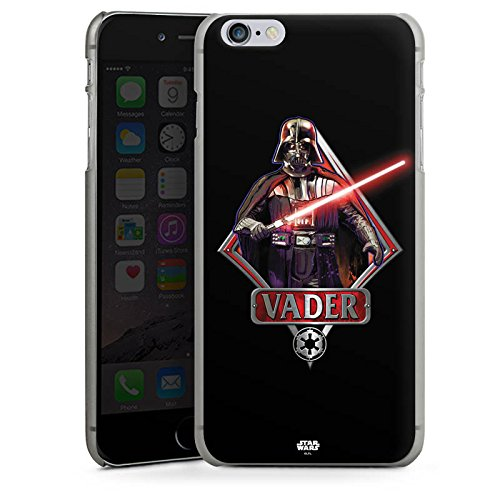 Apple iPhone SE Hülle Case Handyhülle Star Wars Merchandise Fanartikel Darth Vader Lichtschwert Hard Case anthrazit-klar