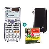 Casio FX-991ES Plus + Schutztasche + Lern-CD (auf Deutsch)