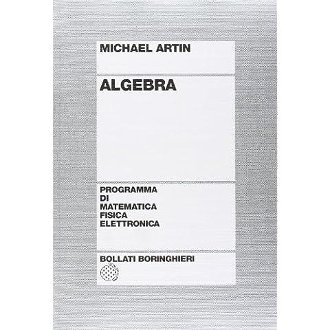 Algebra (Programma di mat. fisica elettronica)