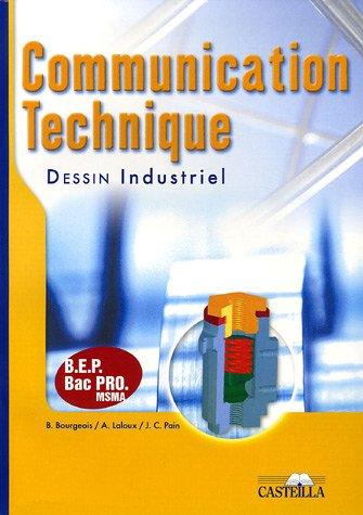 Communication technique, Dessin industriel
