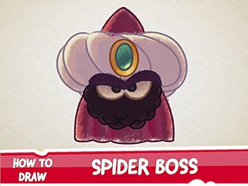 How to Draw Spider Boss from Cut the Rope Magic