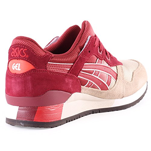 Asics Shoes GEL-LYTE III BURGUNDY 15/16 Asics Tiger Rouge