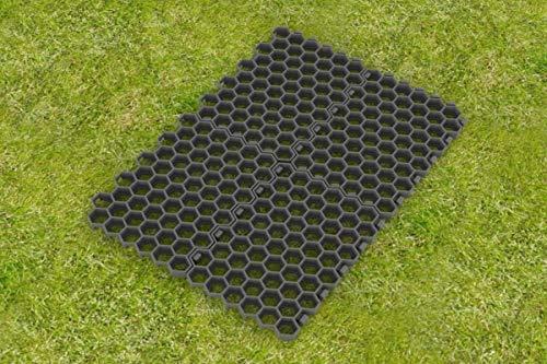 Paddockplatte - 50 x 40 x 4 cm - schwarz