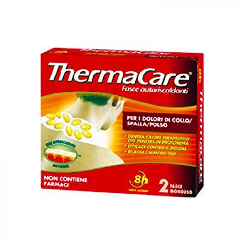 Thermacare Ansatz-Schulter-Handgelenk-Band-2 Selbsterhitzung (Kleidung Eisen Kohle)