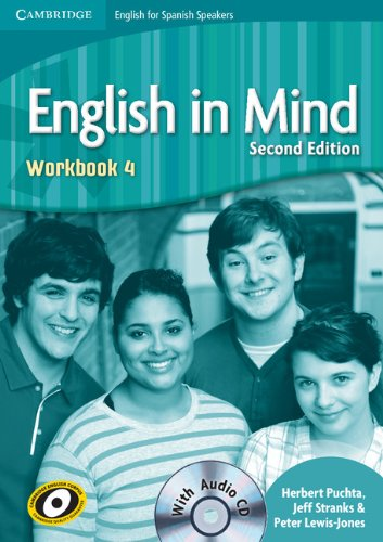 English in Mind for Spanish Speakers 4 Student's Book with DVD-ROM - 9788483237519 por Puchta