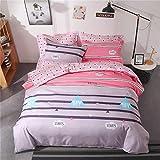 Bettwäsche für das ältere Schlafzimmer, Herbst und Winter, schöne Bettwäsche, Obst-Set von vier oder vier Sätzen Mousse AU-Double
