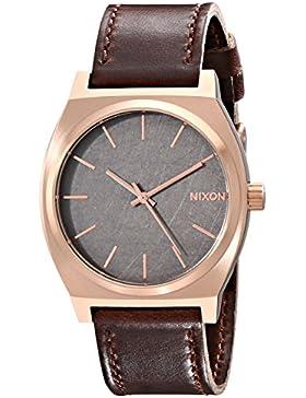Nixon Herren-Armbanduhr Time Teller Analog Quarz Leder A0452001-00