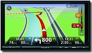 """SONY XNV-L77BT Ecran double DIN  7"""" / 17,78 cm avec navigation tactile LIVE AV Bluetooth intégré (Import Royaume Uni)"""
