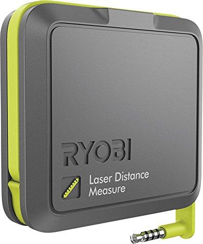 Ryobi Laser-Entfernungsmesser Rpw-1000 Messbereich 30 m, 1 Stück, schwarz / grün, 5133002373