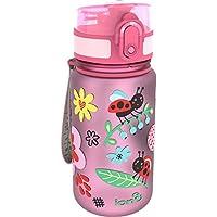 Botella de agua para niños «Ladybugs» de Ion8, a prueba de derrames, libre de BPA, 350ml
