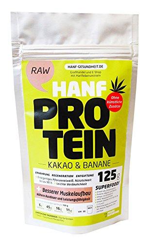 Hanf Protein Kakao und Banane 125 g