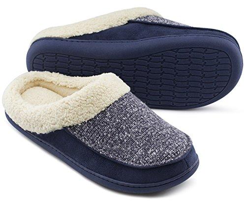 HomeTop, Pantofole uomo Navy blue