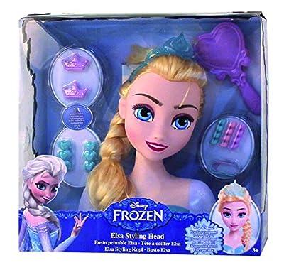 Frozen - Busto peinable de Elsa con accesorios (IMC Toys 16149) de IMC Toys