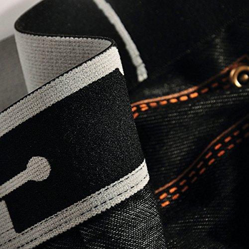 Xuba Herren Boxershort Unterhose Sexy Retroshort Unterwäsche Boxer Briefs Trunks Hipster Denim Blau 1