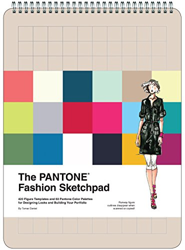 PANTONE Fashion Sketchpad: 420 Figure Templates and 60 Pantone Color Palettes for Designing Looks (Sketchpads)
