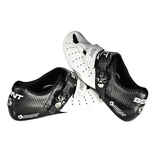 Bont–Vaypor Plus larghezza standard Road scarpe 2017, bianco/nero White/Black