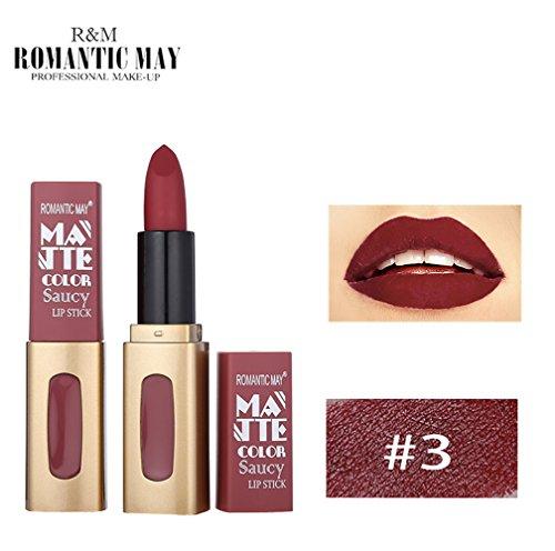 Onyou Color Sensational - Rouge à lèvres mat Rouge bordeaux - 975 Divine Wine