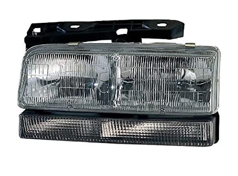 Depo 332-1148L-FSUN Buick LeSabre/Park Avenue Driver Side Replacement Headlight Assembly with Corner Light by Depo