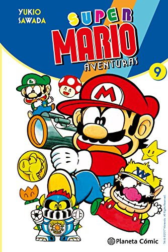 Super Mario nº 09 (Manga Kodomo) por Yukio Sawada