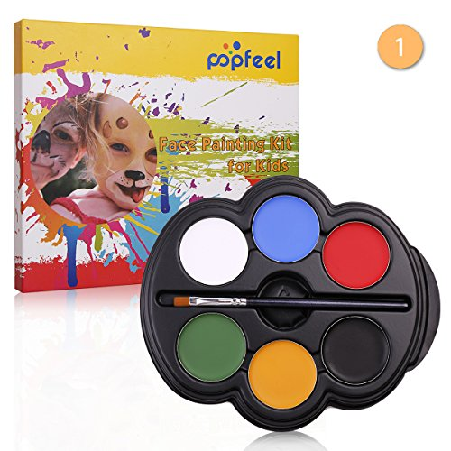 value-makers-6-color-kids-face-paint-palette-kit-with-painting-brush-rainbow-colour-professional-saf