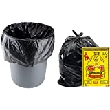 G-1 180 pcs - 19X21 Medium Disposable Garbage Trash Waste Dustbin Bags of 54cm x 48cm (G119210008)