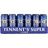 Tennent's Super Strong Lager Beer Can 24 x 500ml