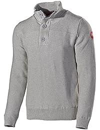 2daccaa815702 Holebrook Mens Jan Windproof Sweater Light Grey