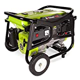 Böhmer-AG Electric Key Start Petrol Generator 3000w, 3.8kVA, 8HP WX3800-e - UK Plugs