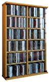 VCM Wandregal Hängeregal Wandschrank Hängeschrank Wandvitrine Wandschrank Buche 18 x 60 x 91,5 cm