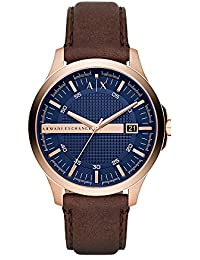 Armani Exchange Hampton Analog Blue Dial Men's Watch - AX2172