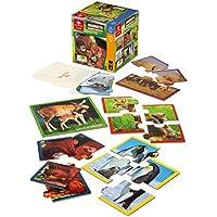 Dal Negro 53939–Animal Planet Mini Puzzle Quadrotto Madre y cachorro - Peluches y Puzzles precios baratos