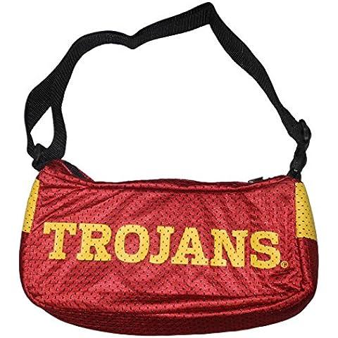 ¿Colector de Item: NCAA Southern California troyanos Jersey cartera/umh? ngetasche - colour rojo oscuro, color Rojo - rojo, tamaño talla única