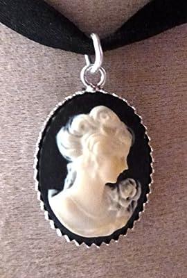 pendentif camée argent 925 madame de pompadour 2