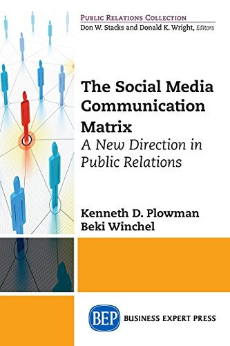 The Social Media Communication Matrix: A New Direction in Public Relations by Kenneth D Plowman (2015-09-09) par Kenneth D Plowman;Beki Wenchel;Beki Winchel