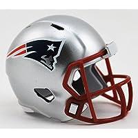 Riddell NEW ENGLAND PATRIOTS NFL Speed POCKET PRO MICRO/POCKET-SIZE/MINI Football Helmet