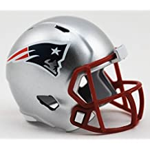 New England Patriots nfl Riddell velocidad bolsillo Pro Micro/tamaño de bolsillo/Mini casco de fútbol