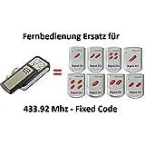 Handsender 433.92 MHz für Marantec : 211,212,214,221,222,224,231,232 Antriebe