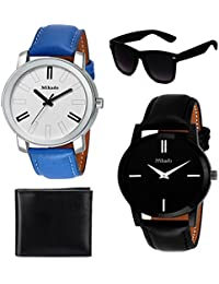 Mikado Dashing Combo Watches With One Sunglass And Wallet