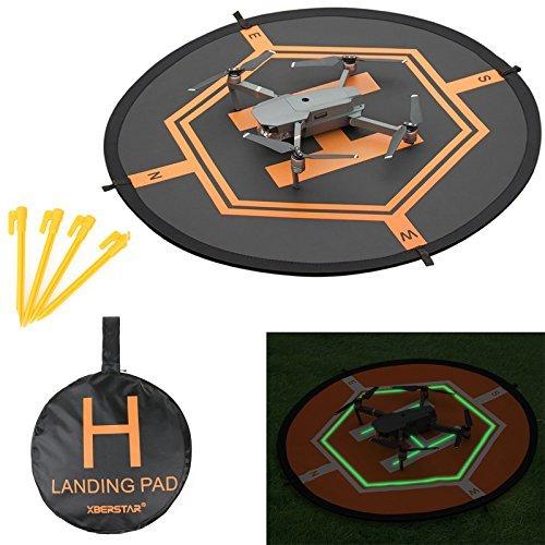 Double Side Tag & Nacht faltbar Schürze Landeplatz für DJI Mavic Pro inspirieren 1 phantom4 3 Quadcopter RC Drone tragbar FastFold Launch Kinder