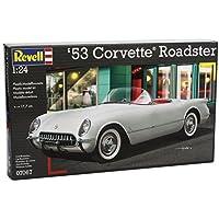 Revell Rv160 1:24 '53 Corvette Roadster Sports Car Hobby Craft Model Kit Set by Revell of Germany