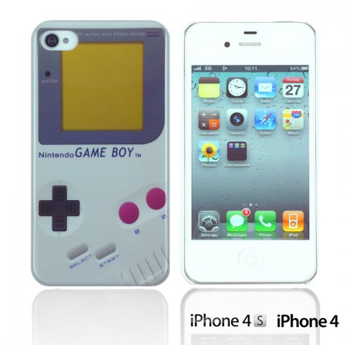 OBiDi - Designer Hard Case Cover / Housse pour Apple iPhone 4S / Apple iPhone 4 - Game Boy Game Boy