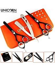 Unicorn Plus Scissors - Ciseaux à cheveux gauchers Set 5.5 inch - Ciseaux à cheveux Barber Salon - Ciseaux à...