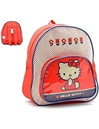 Mochila Hello Kitty Capacidad 30 x 8 x 28 cms