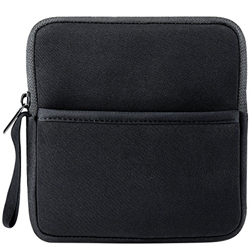 VicTsing Shockproof External CD DVD Writer Blu-Ray & External Hard Drive Neoprene Protective Storage Carrying Sleeve Case Pouch Bag With Extra Storage Pocket for Apple MD564ZM/A USB 2.0 SuperDrive / Apple Magic Trackpad / SAMSUNG SE-208GB SE-208DB SE-218GN SE-218CB / LG GP50NB40 GP60NS50 / ASUS External DVD Drives (Black)  available at amazon for Rs.1699