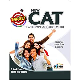 TARGET NEW CAT - Past (2005 - 2010) + 5 Mock Tests + 25 Practice Test CD by [Disha Experts]