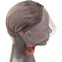 Bella Hair Perruque Bonnet de dentelle Simple Pour Fabrication de Perruques  Brune Foncé Taille Moyenne ,