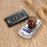 100g bis 0,01g / 200g bis 0,01g Mini-Digitalwaage für elektronische Taschenwaagen LCD mit Präzisions-DMS-Sensor Rone Leben